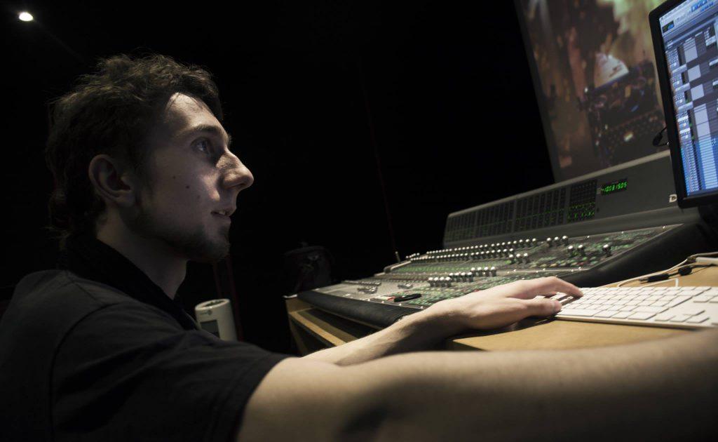 Pierrick Querolle, sound designer, compositeur.